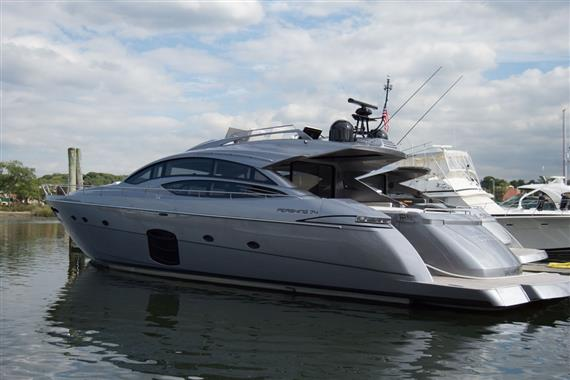 2017 Pershing 74, Sultan Profile