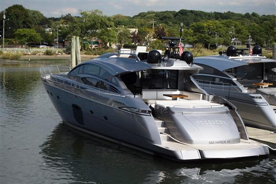 2017 Pershing 74, Sultan Aft View