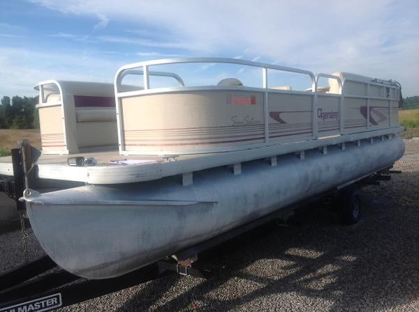 2000 PREMIER PONTOONS SUNSATION for sale