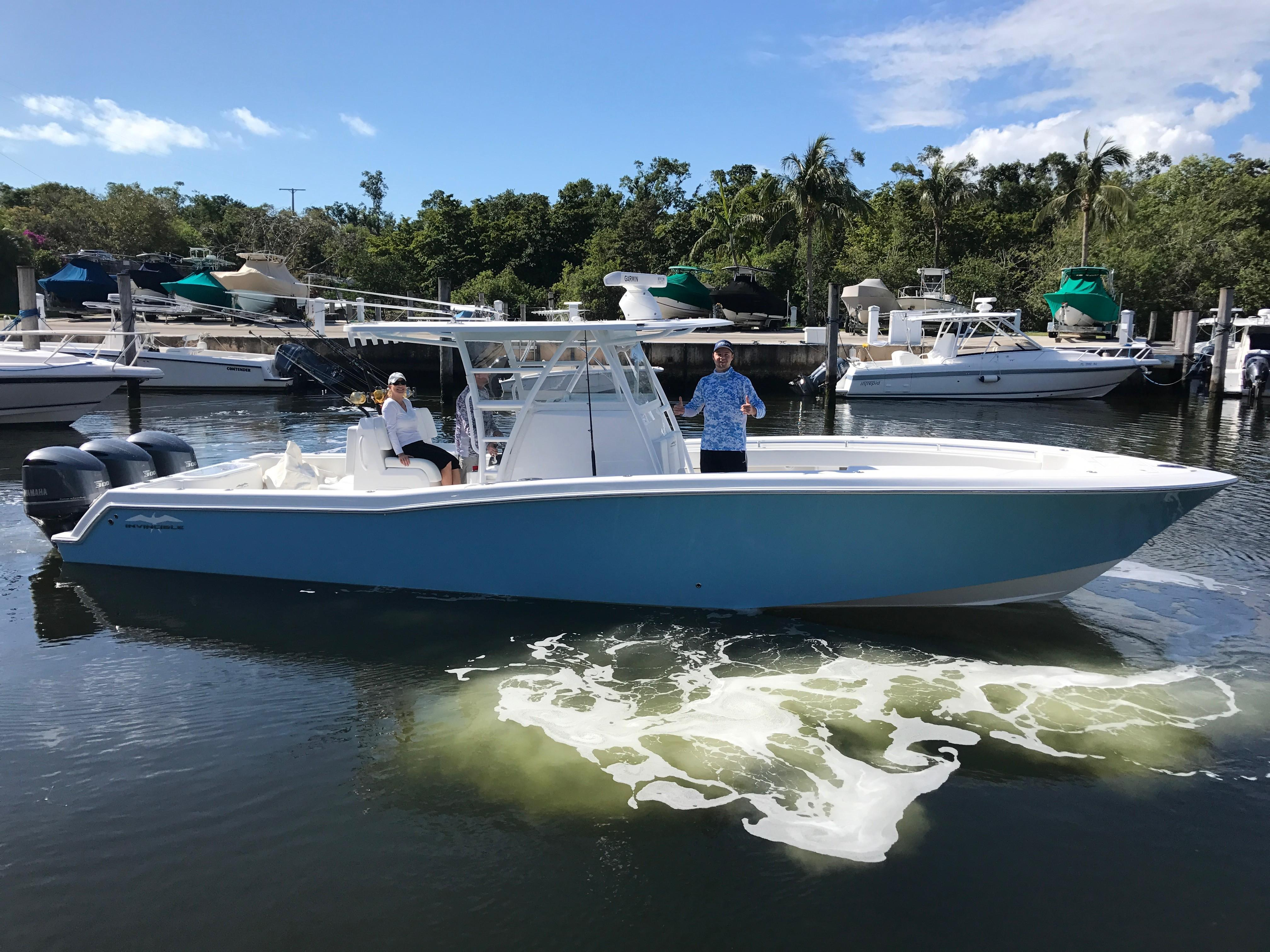 2018 Invincible 36 Center Console Hmy Yacht Sales