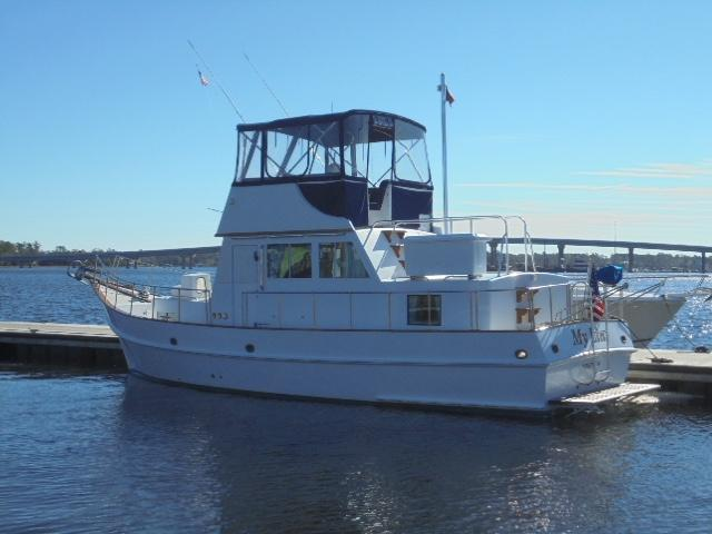 Custom 36 Yukon Trawler - Profile