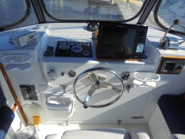 Custom 36 Yukon Trawler - Centerline Helm