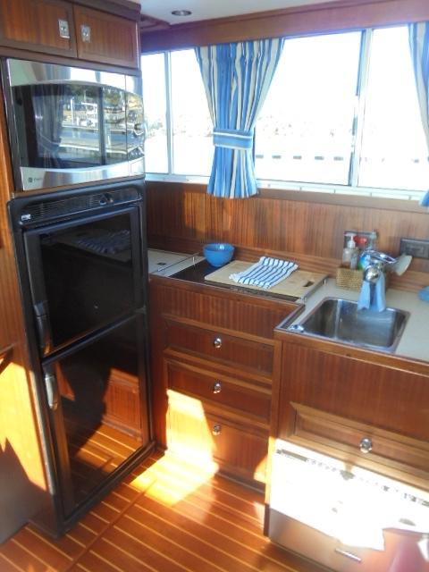 Custom 36 Yukon Trawler - Galley to Port