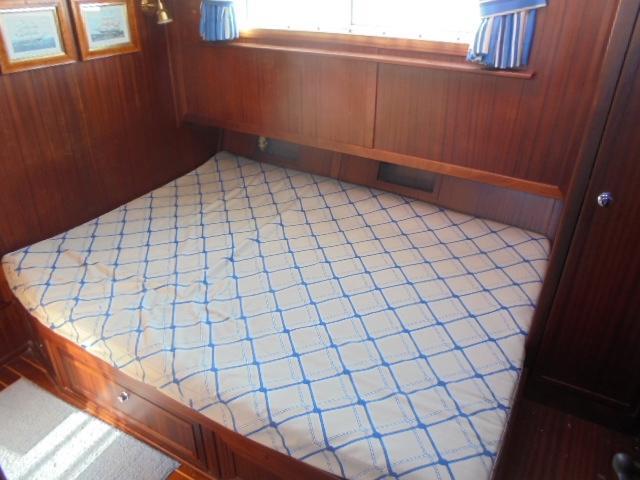 Custom 36 Yukon Trawler - Master Berth