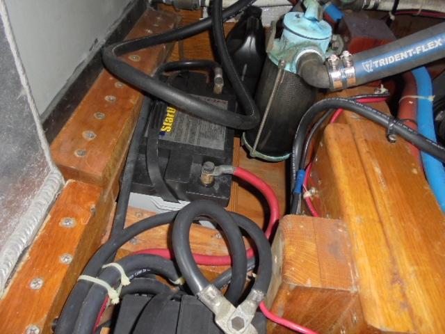 Custom 36 Yukon Trawler - Battery Bank