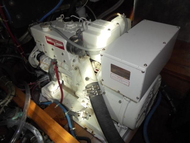 Custom 36 Yukon Trawler - Northern Lights 8 kw Generator