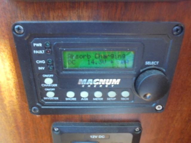 Custom 36 Yukon Trawler - Battery Charger/Inverter Display panel
