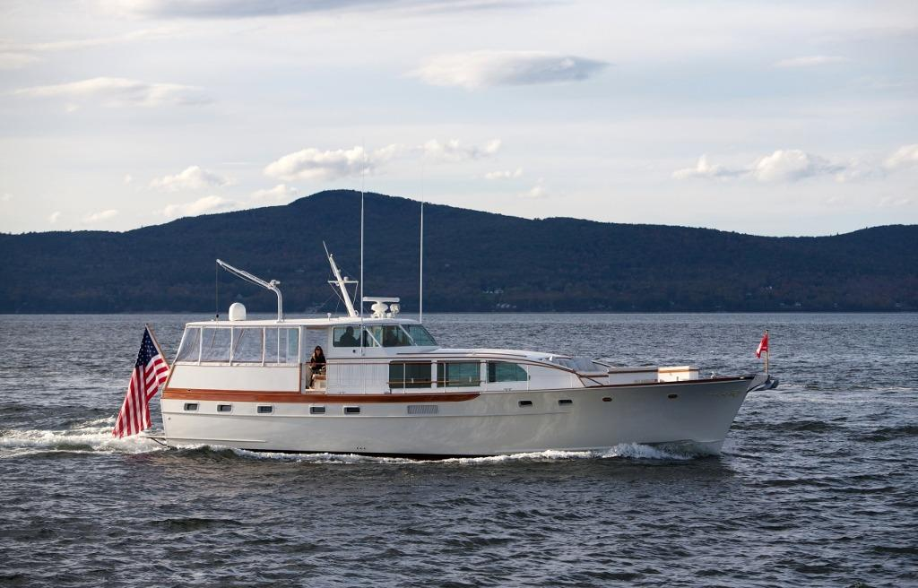 58 Trumpy 1971 Somerset For Sale In Maine Us Denison