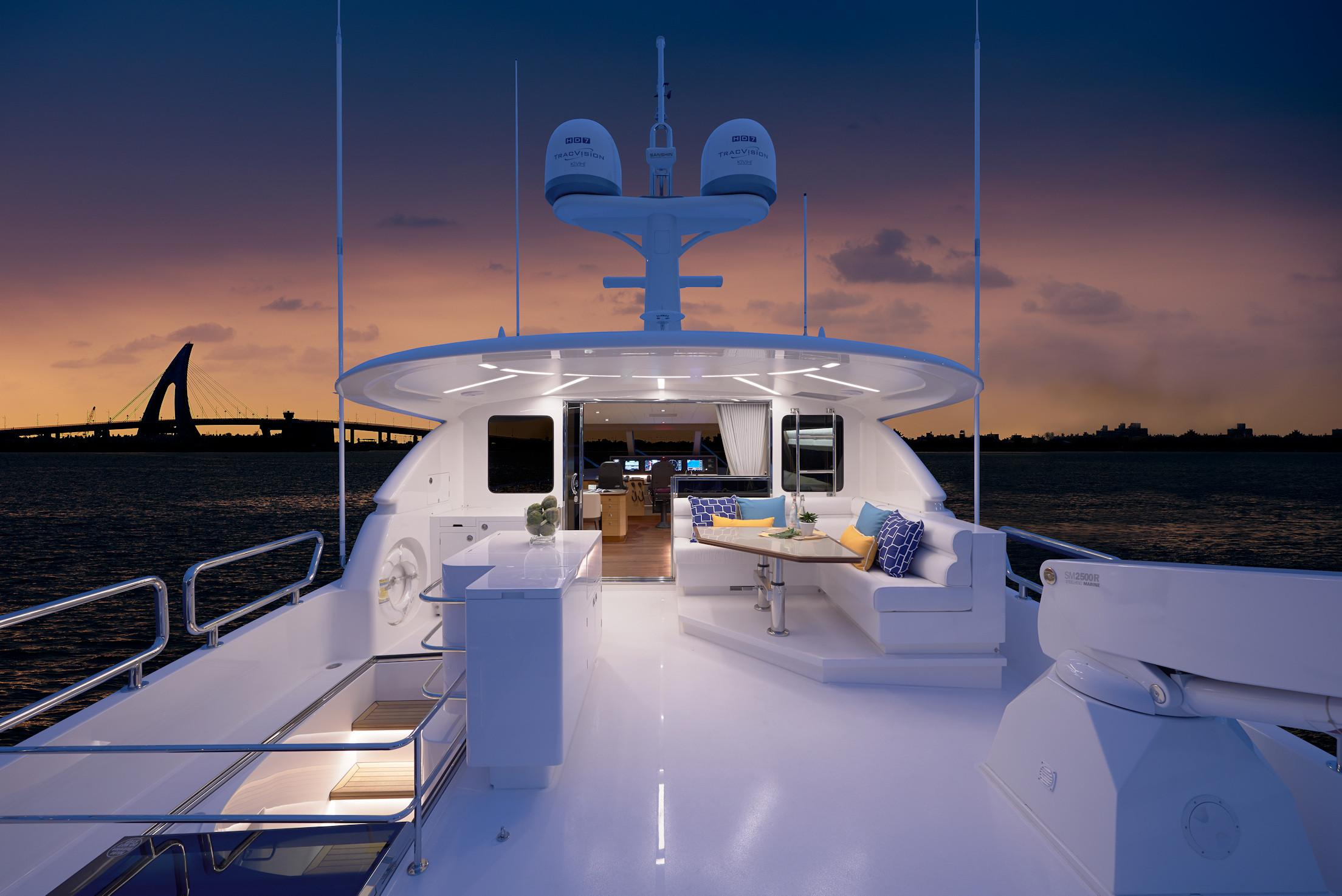 Manufacturer Provided Image: Boat Deck