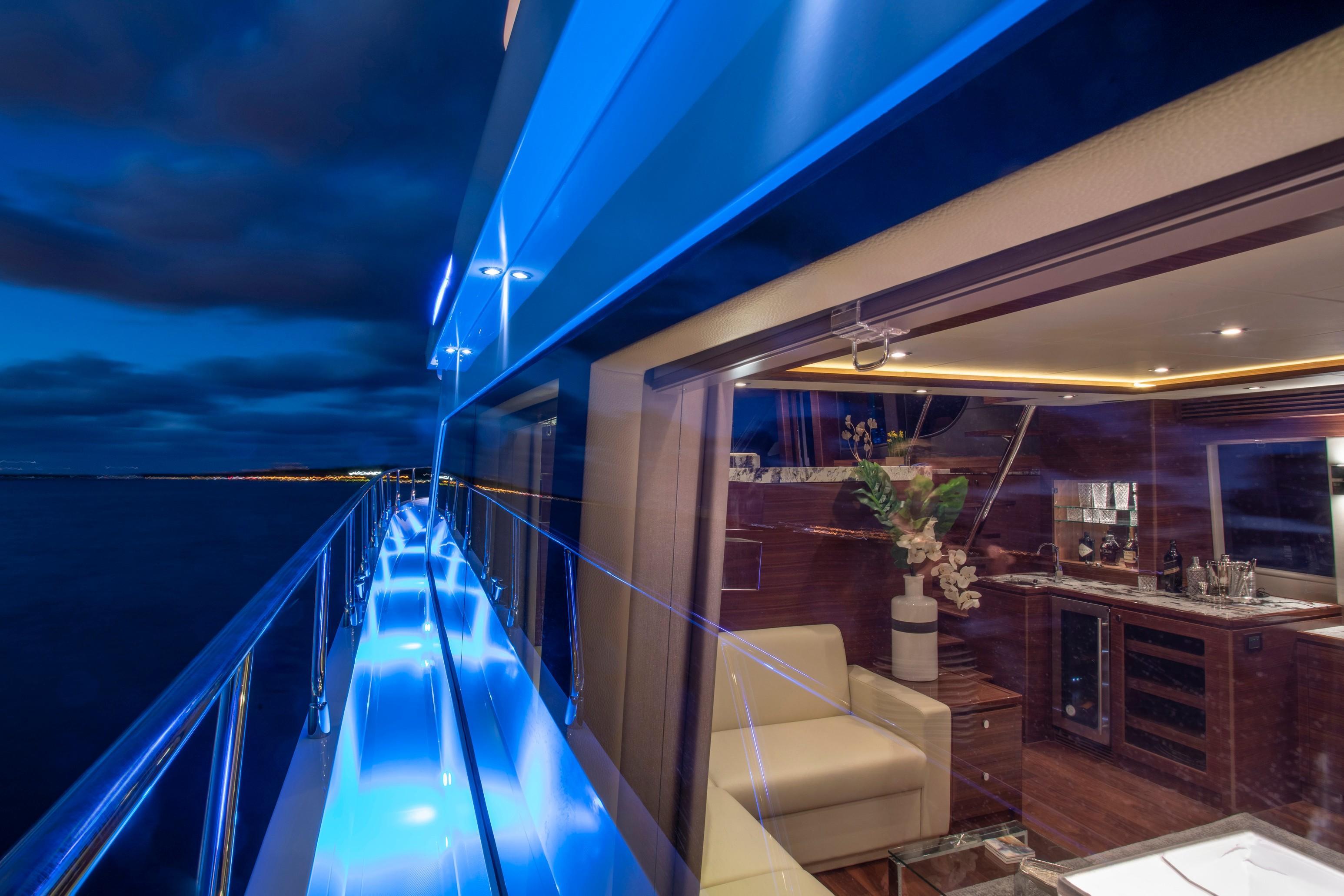 Port Side Deck and Salon