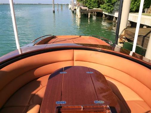 2008 Riva 33 Cento - Cockpit Seating