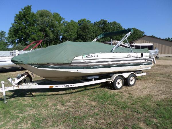 1998 SUN TRACKER PARTY DECK 21 for sale
