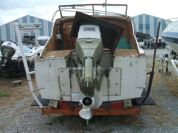 Used 1955 Chris Craft Cabin Cruiser For Sale In Rockport
