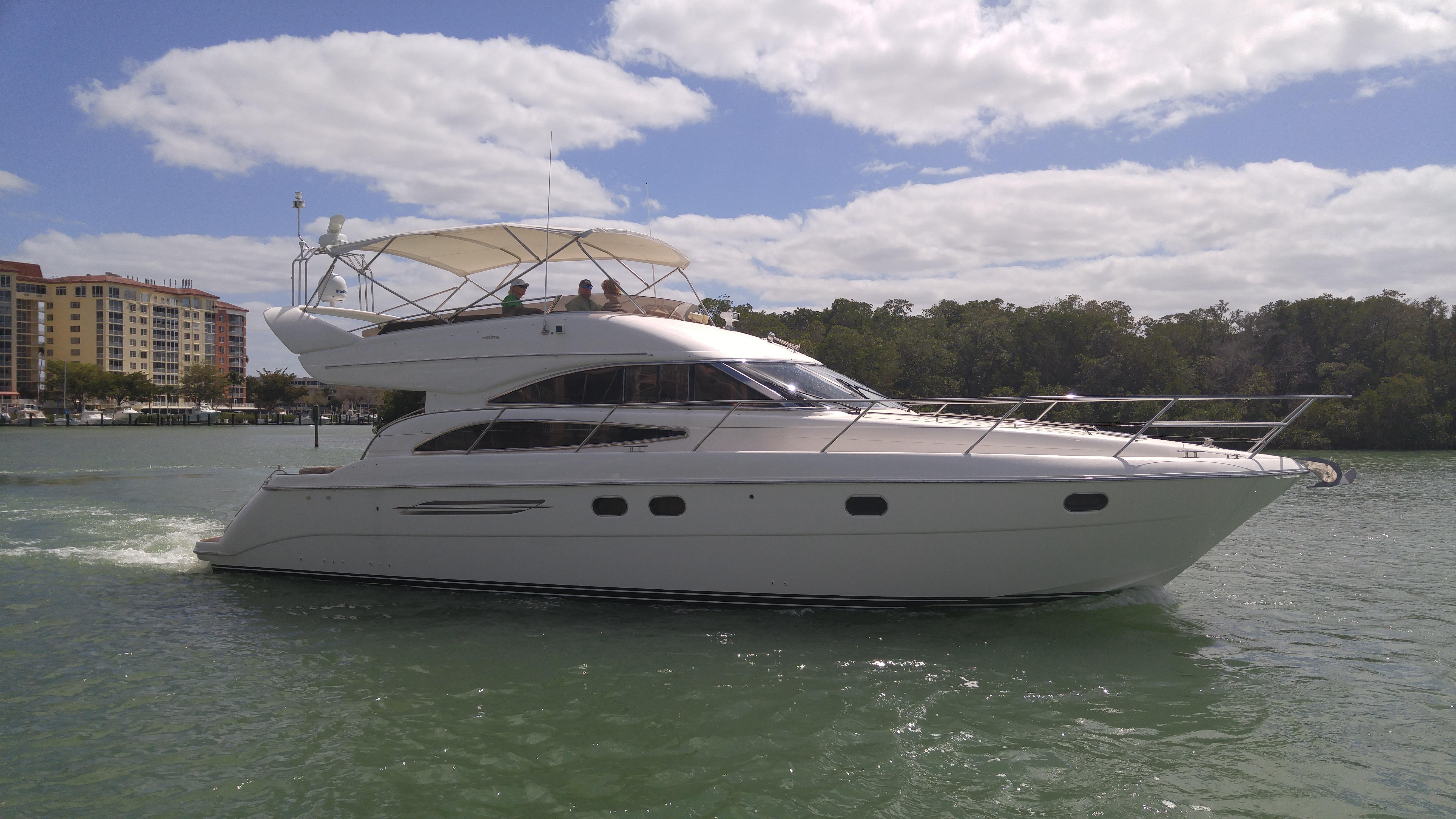 2004 princess viking 50 flybridge for sale for 50 ft motor yachts for sale