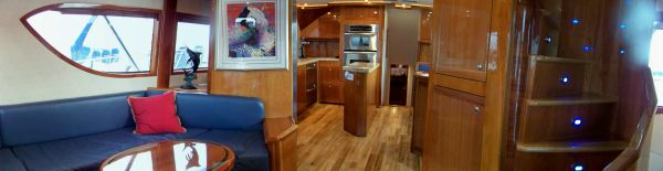 Salon Looking Foward To Galley