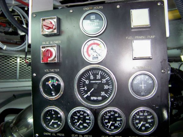 Starboard Control Panel