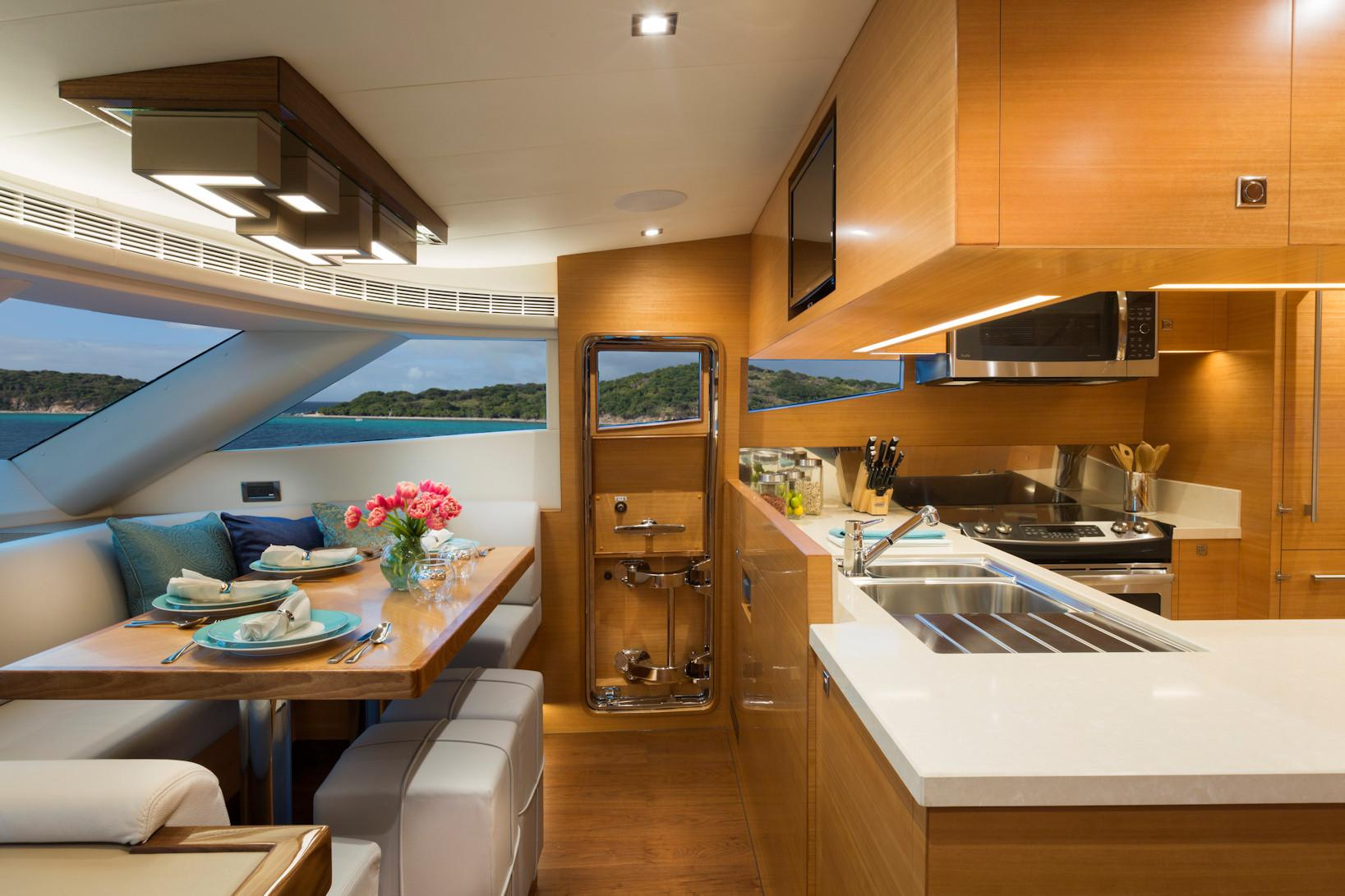 Manufacturer Provided Image: Galley - Dinette