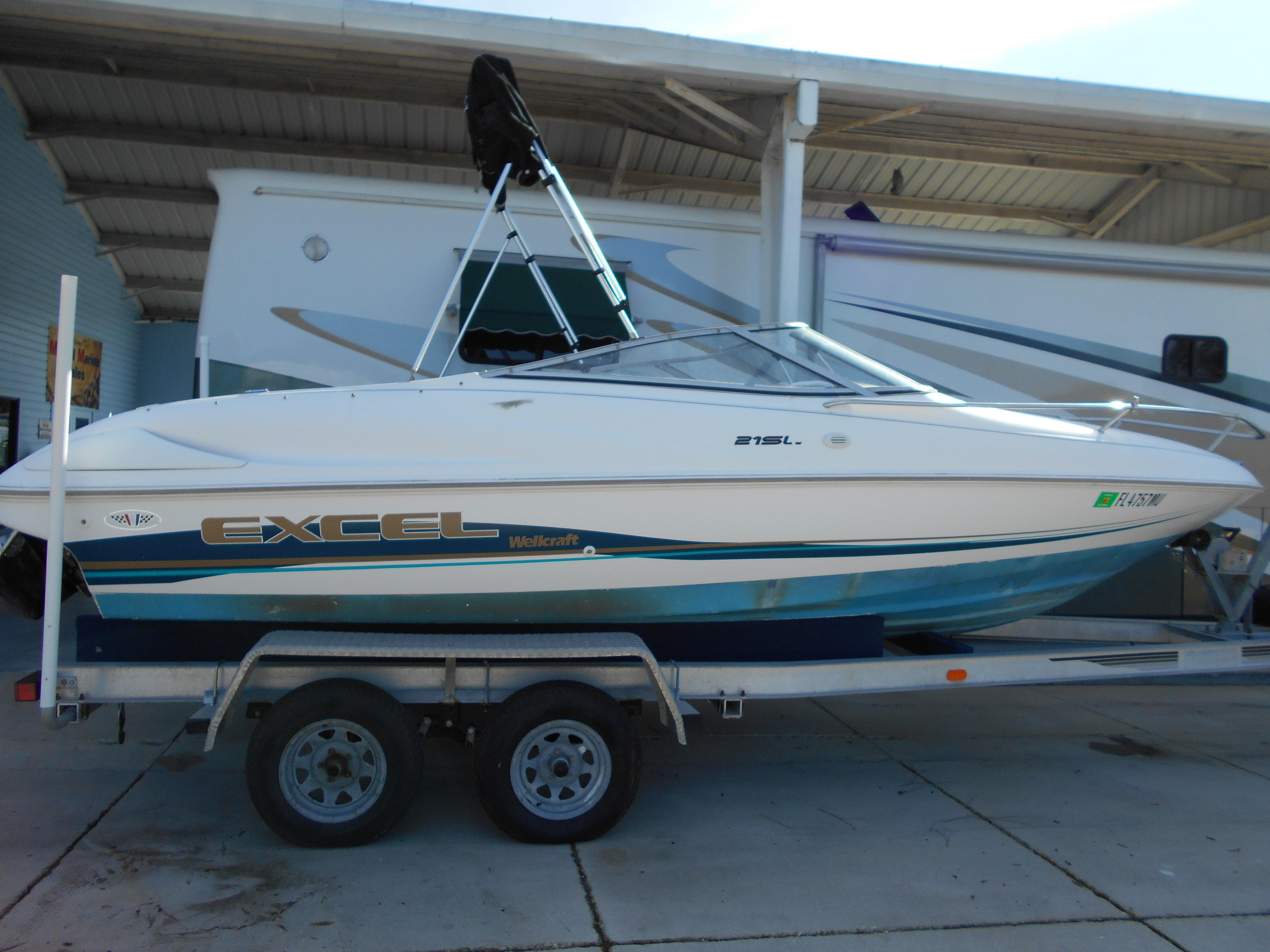 McCall Marine Sales : 1997 Wellcraft EXCEL 21SL for sale