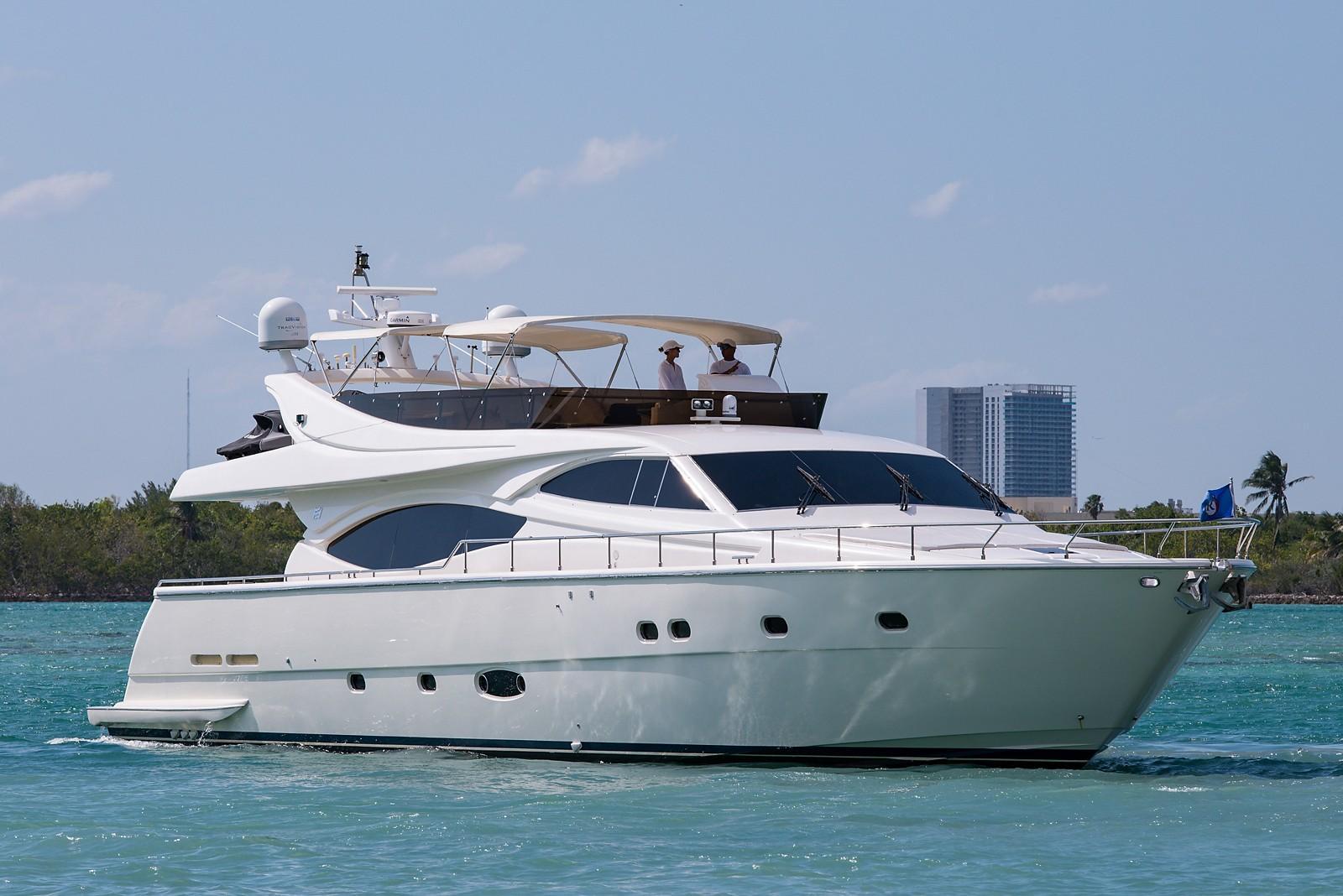 Starboard Profile 760 Ferretti SEA DIVA