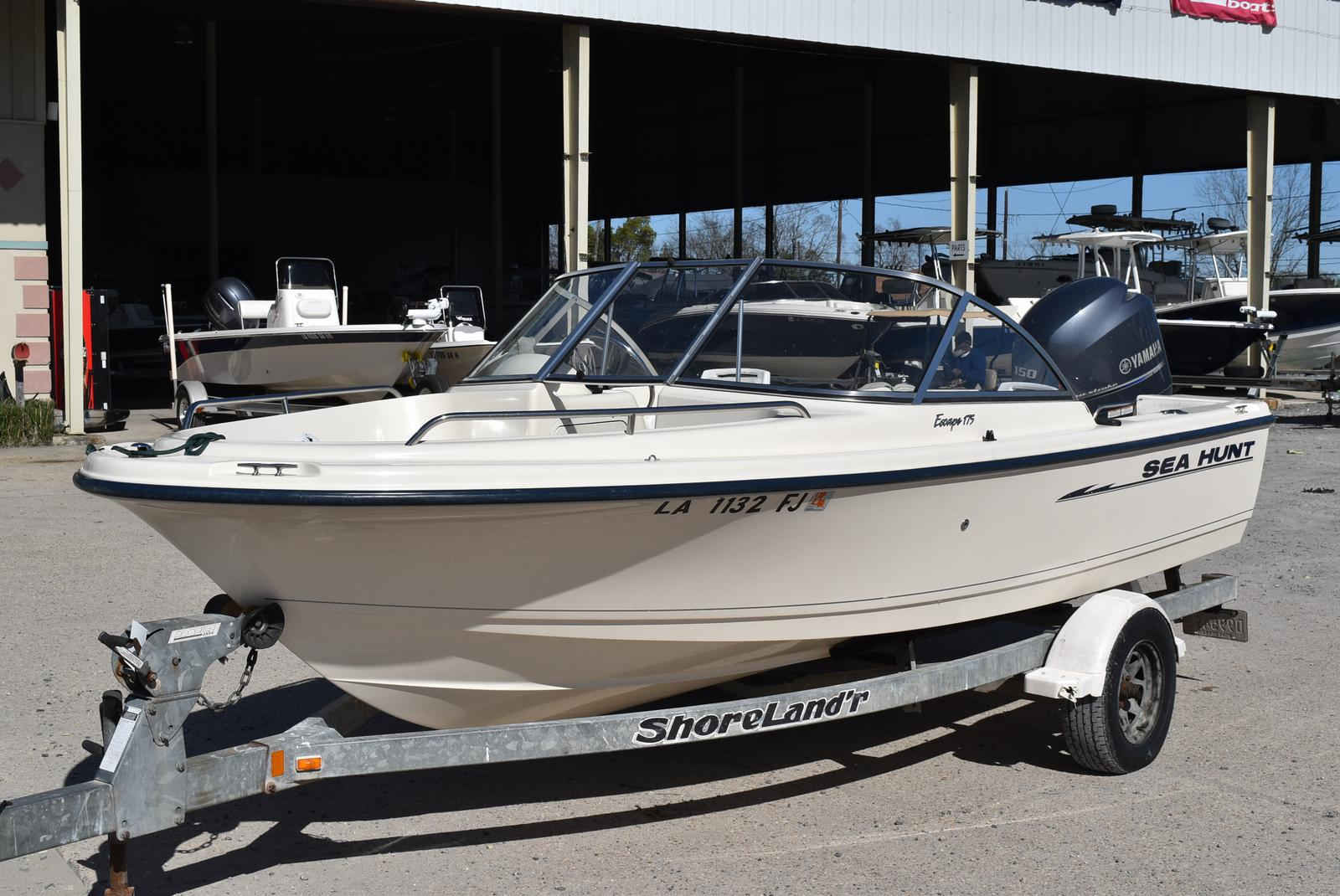 2003 Sea Hunt boat for sale, model of the boat is Escape 175 & Image # 3 of 16