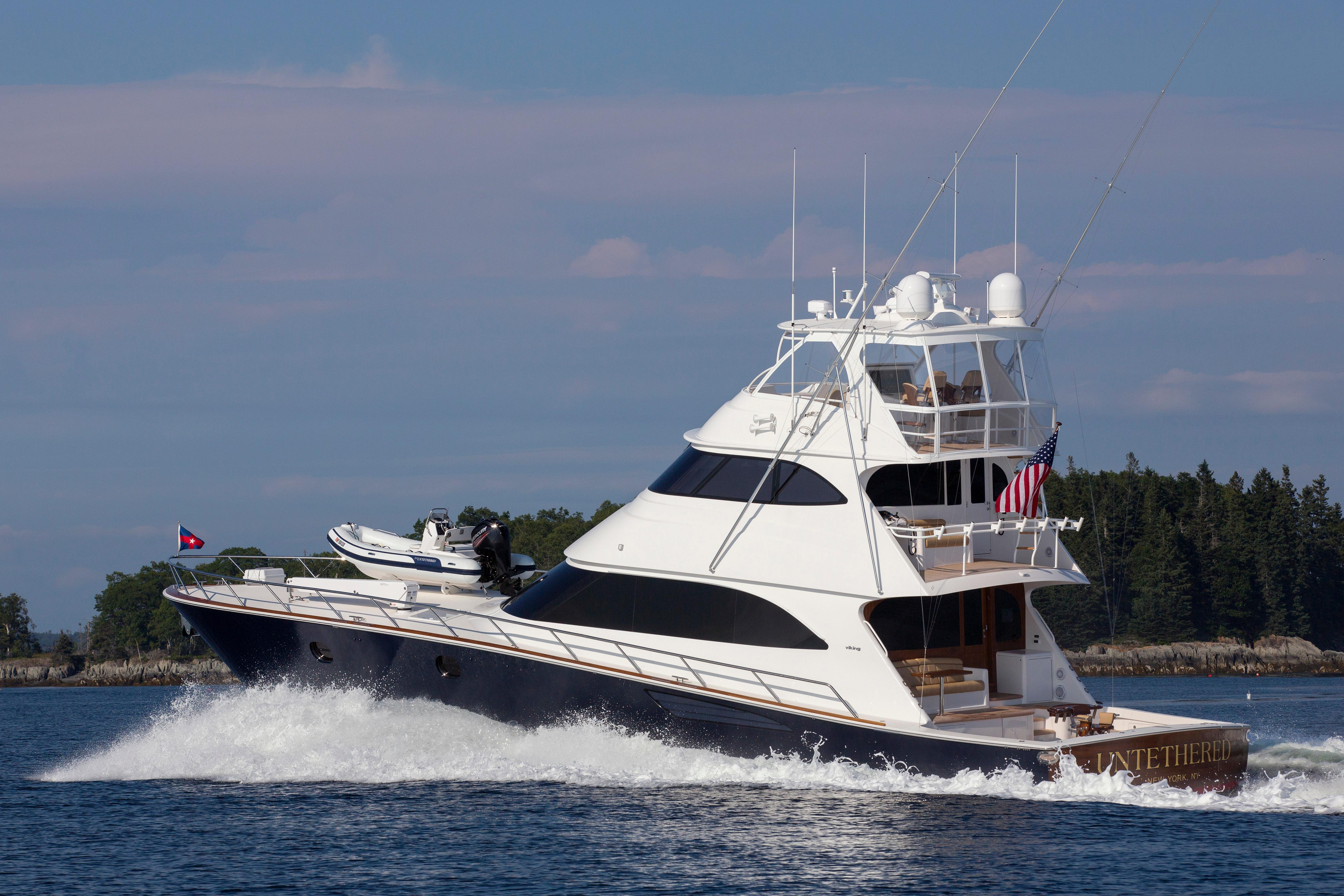 82 viking yacht 2016 untethered for sale in us for 85 viking motor yacht
