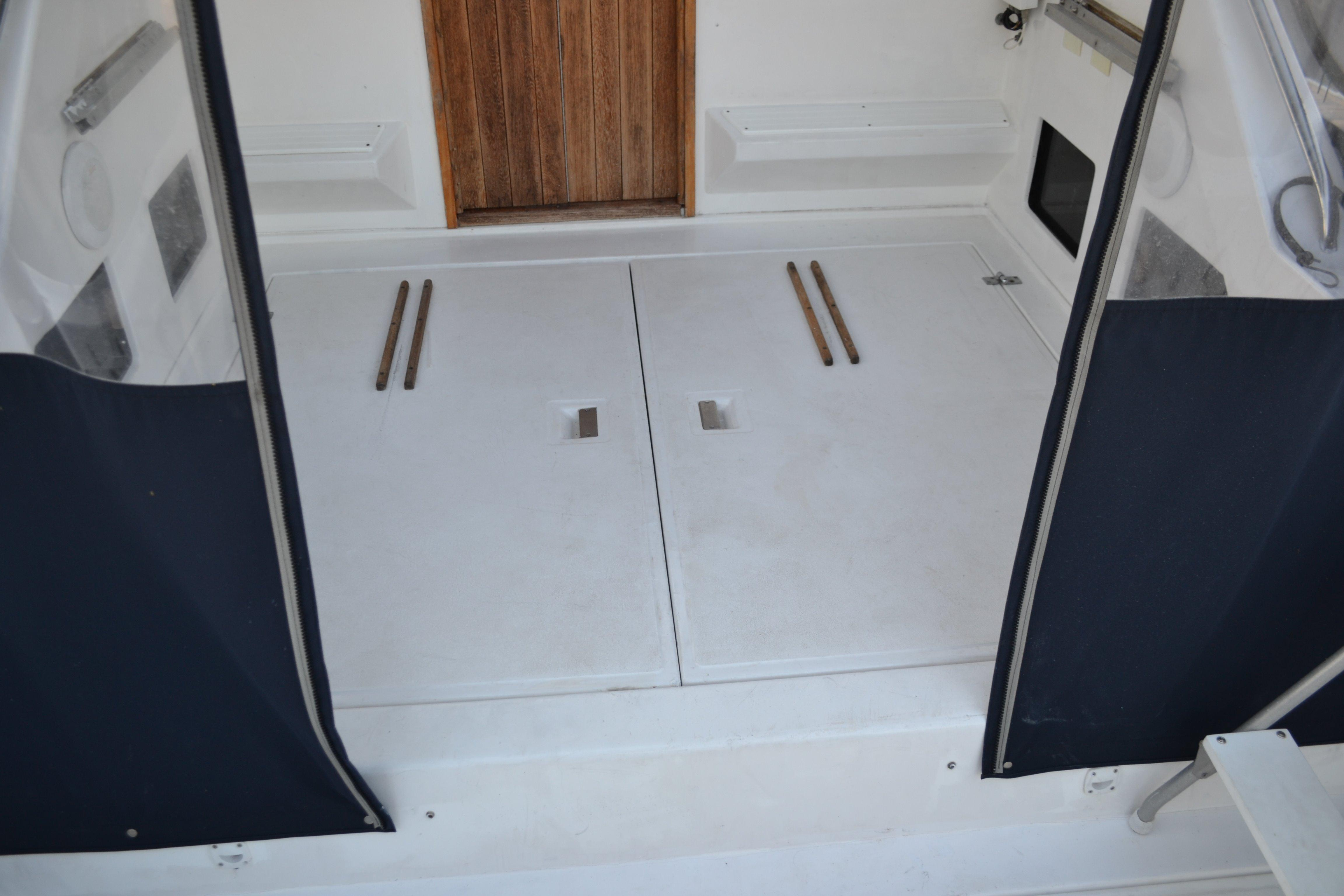 Large Hatches For Easy Engine Access