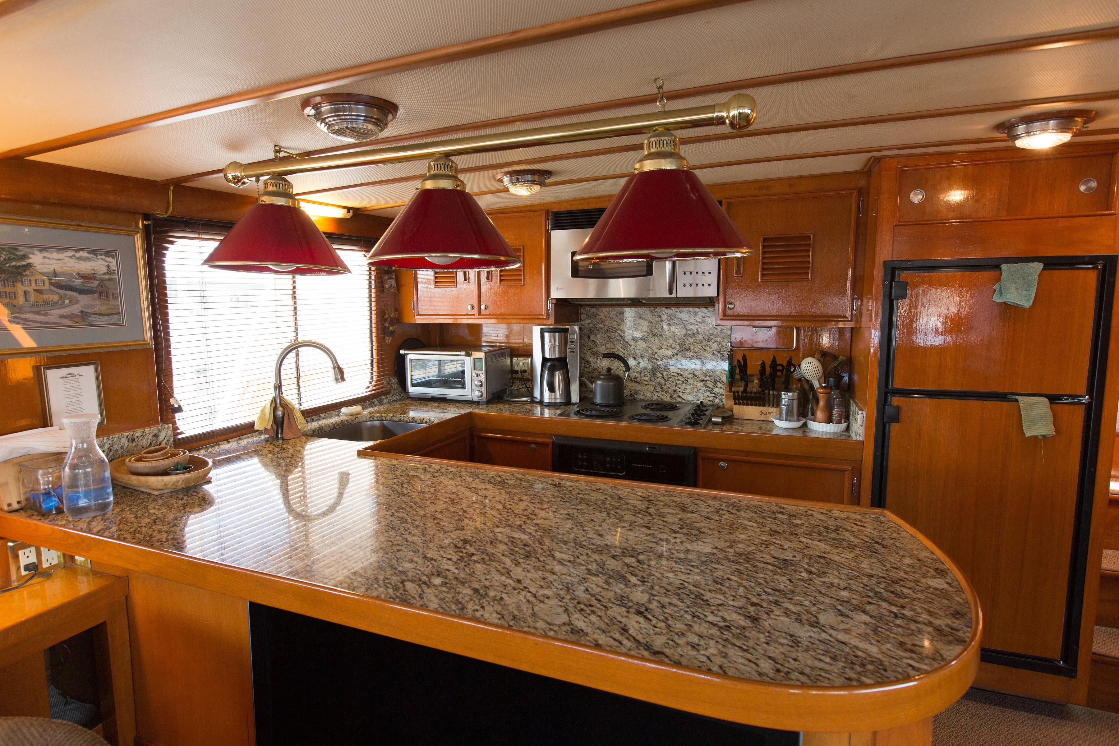 Galley countertop