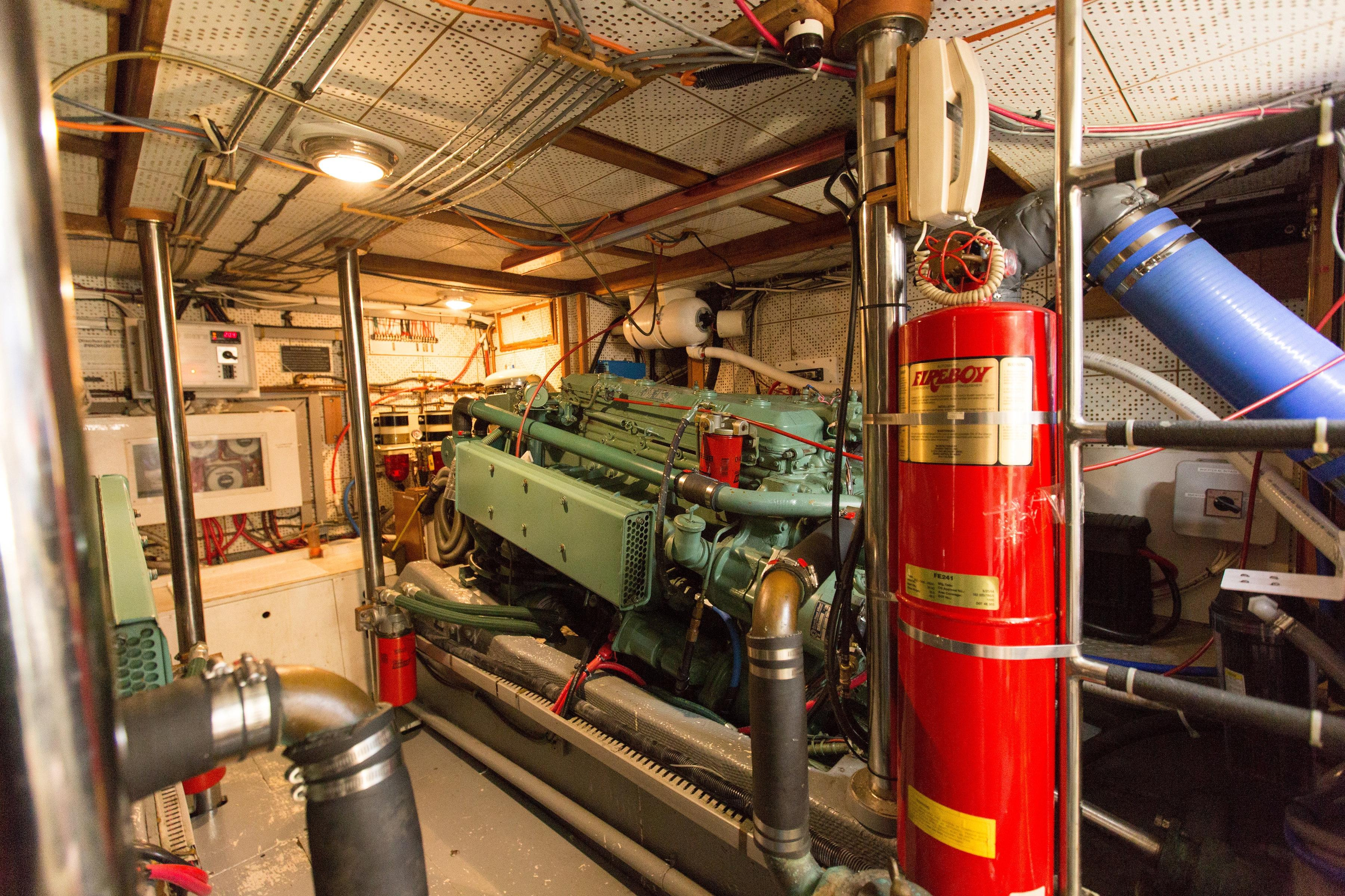 Shot of engine room