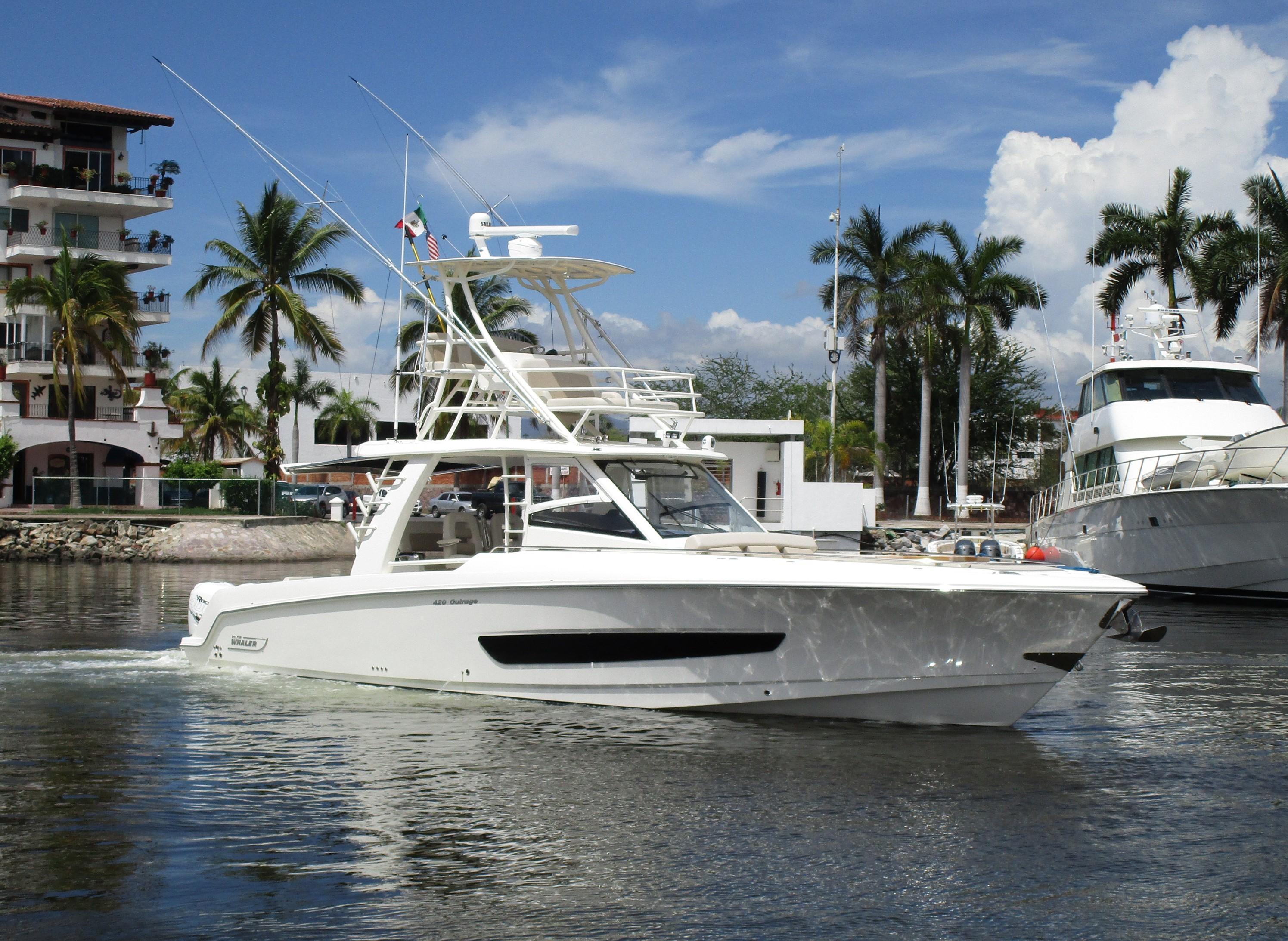 42 Boston Whaler Boston Whaler 420 Outrage 2017 Puerto Vallarta   Denison  Yacht Sales