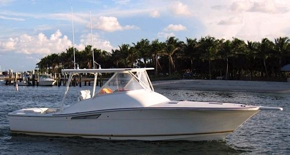 1993 Shearwater Boatworks 33 Custom Express