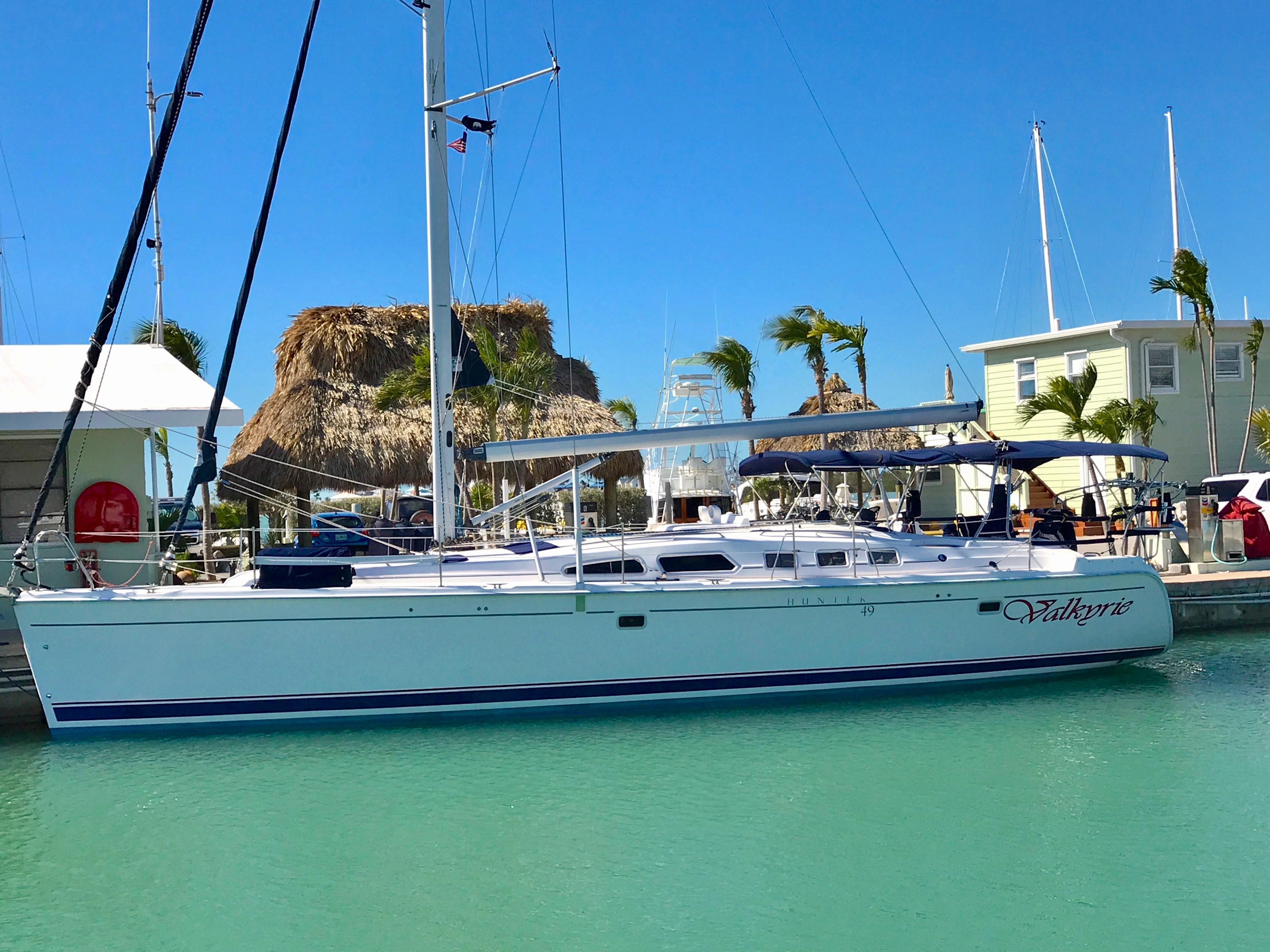 Used Hunter Sailboats For Sale - Hunter MLS Yacht Search