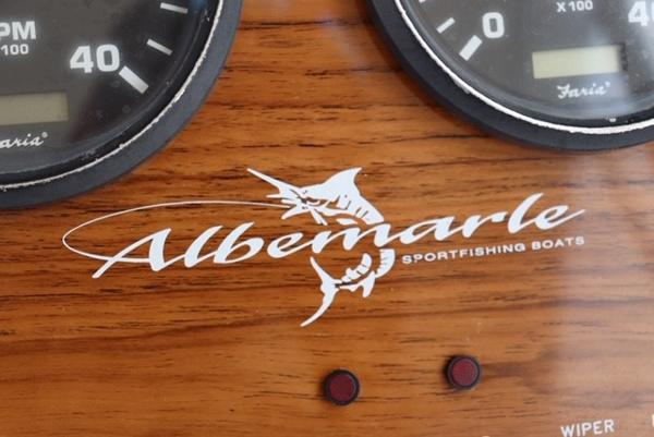 2003 Albemarle boat for sale, model of the boat is 280 Express & Image # 11 of 23