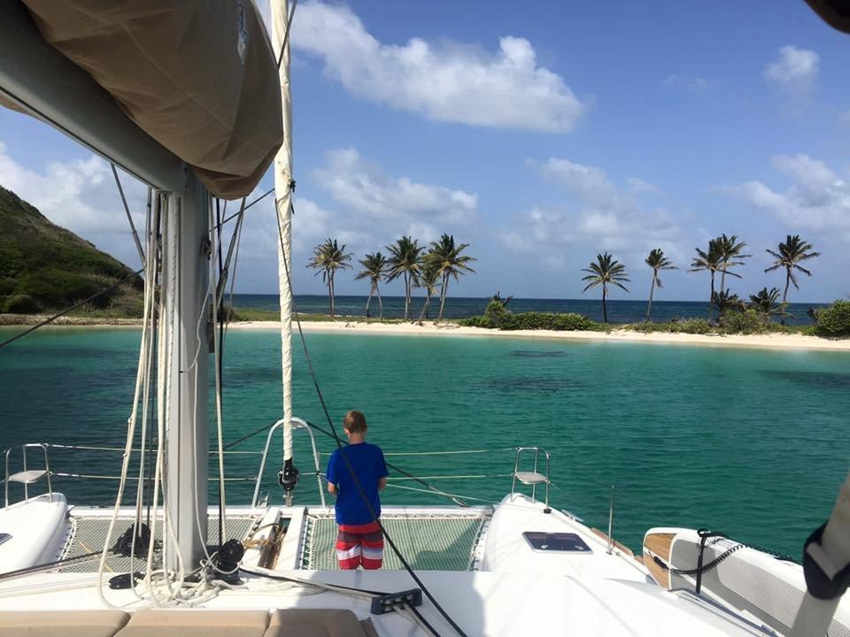 Anchoring in Paradise!