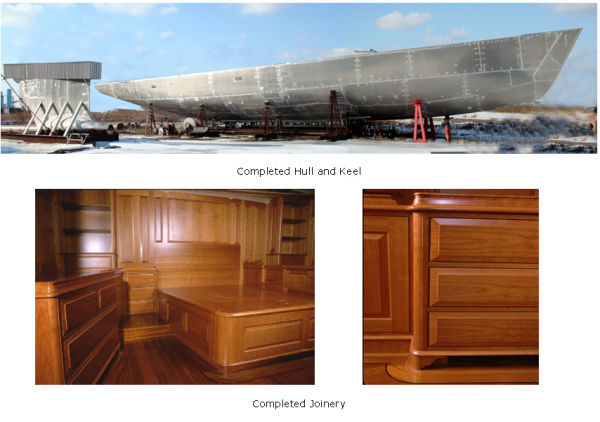 Completed Hull & Joinery