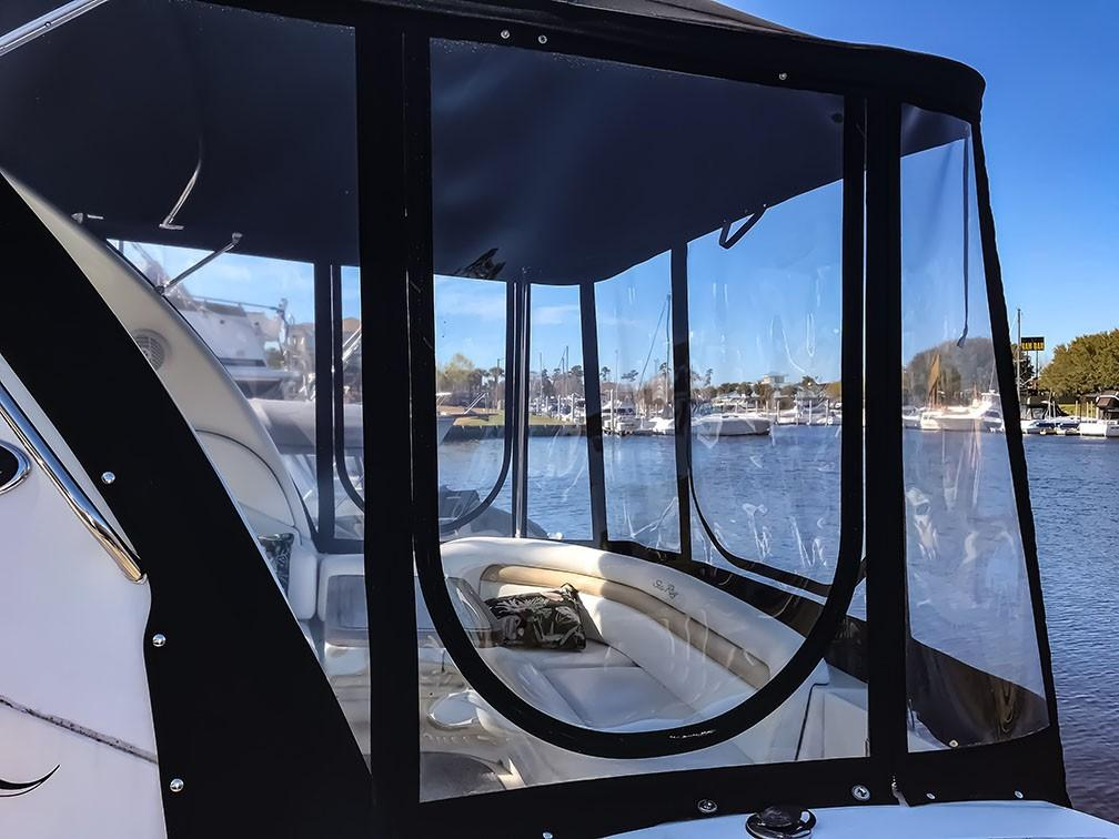 Sea Ray 340 Sundancer - Extended Cockpit Cover