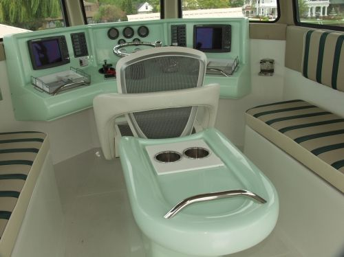 Helm / Pilothouse Seating