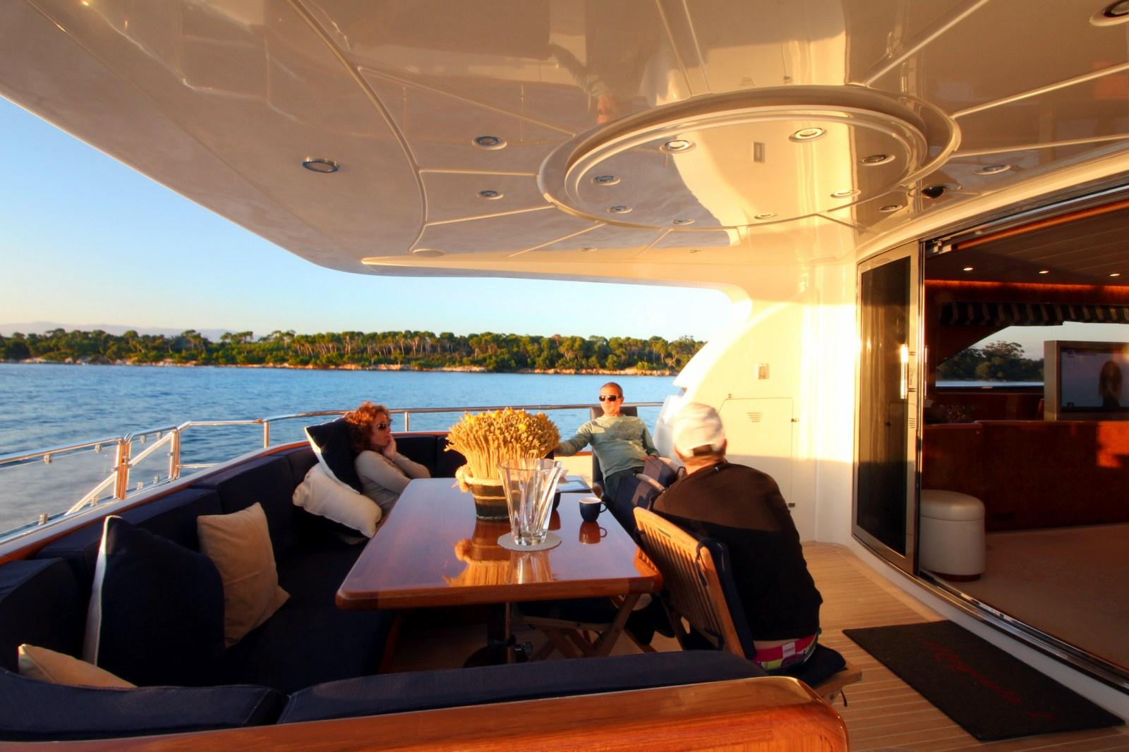 Aft deck view