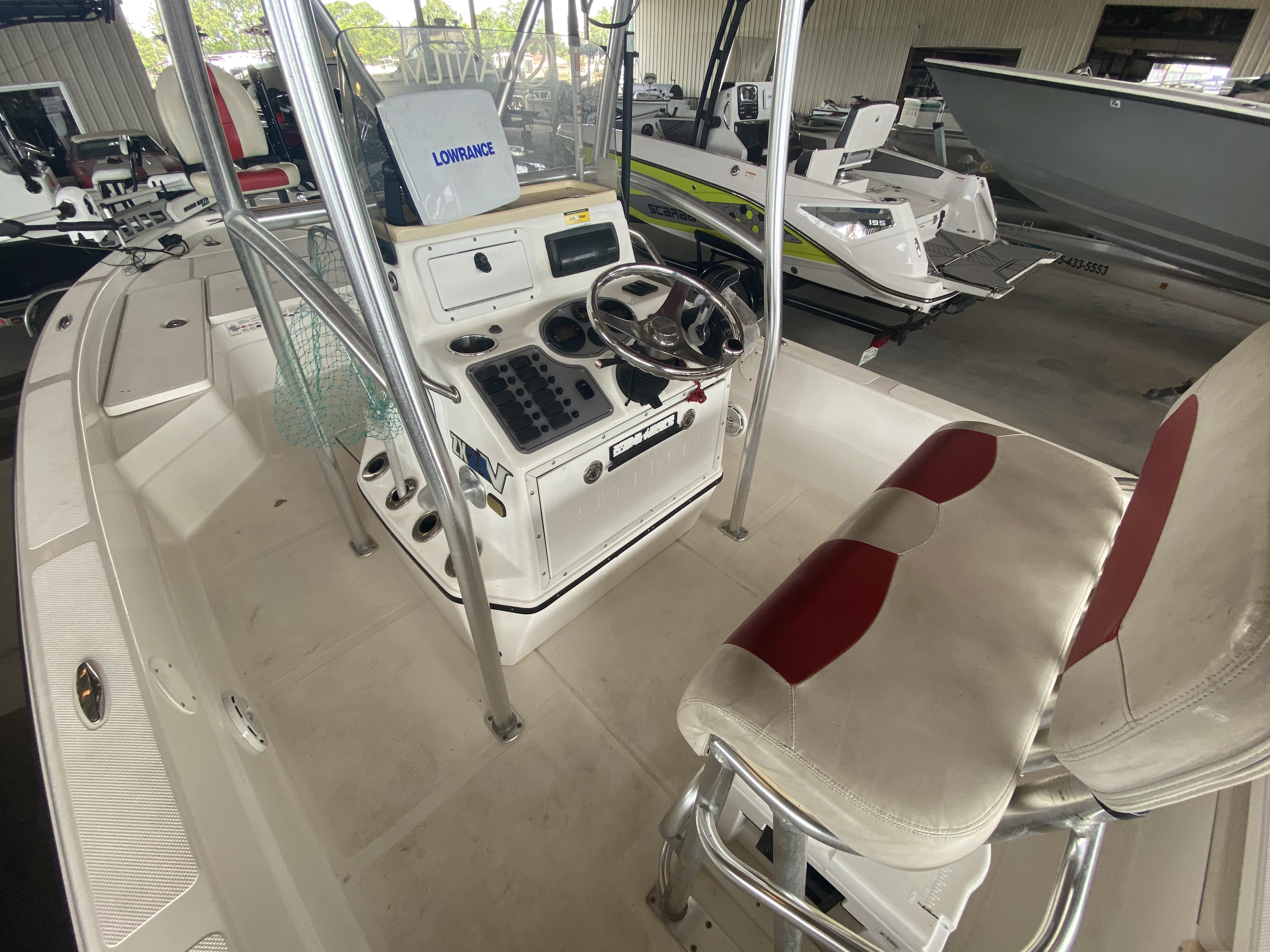 2010 Skeeter boat for sale, model of the boat is ZX24V & Image # 9 of 16