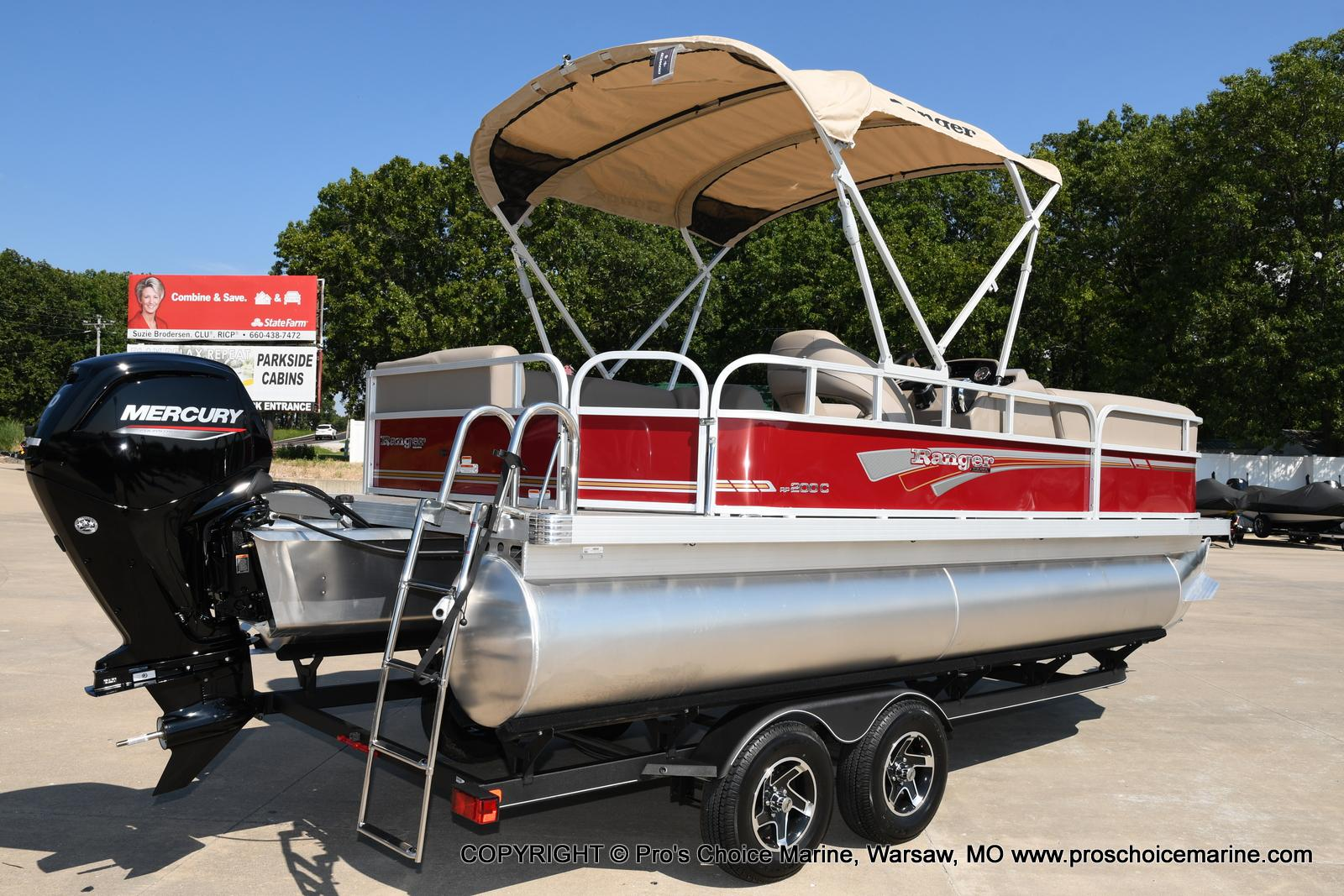 2021 Ranger Boats boat for sale, model of the boat is 200C CRUISE & Image # 16 of 50
