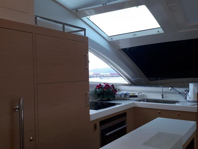 Horizon E56 View to Galley