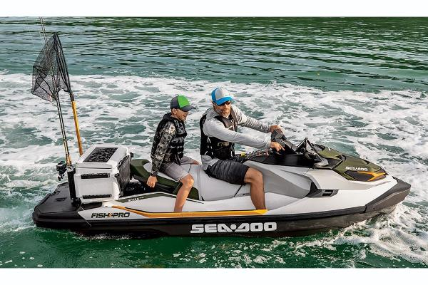 2019 Sea Doo PWC boat for sale, model of the boat is Fish Pro 155 & Image # 2 of 5