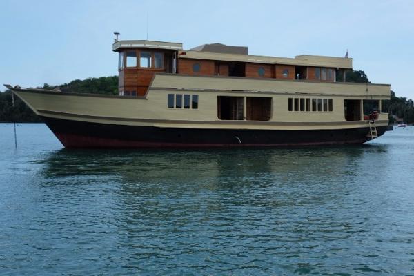 28m Teak Charter Vessel-5099