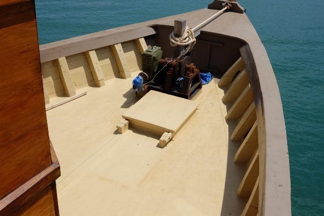 28m Teak Charter Vessel-6