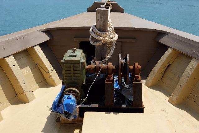 28m Teak Charter Vessel-8