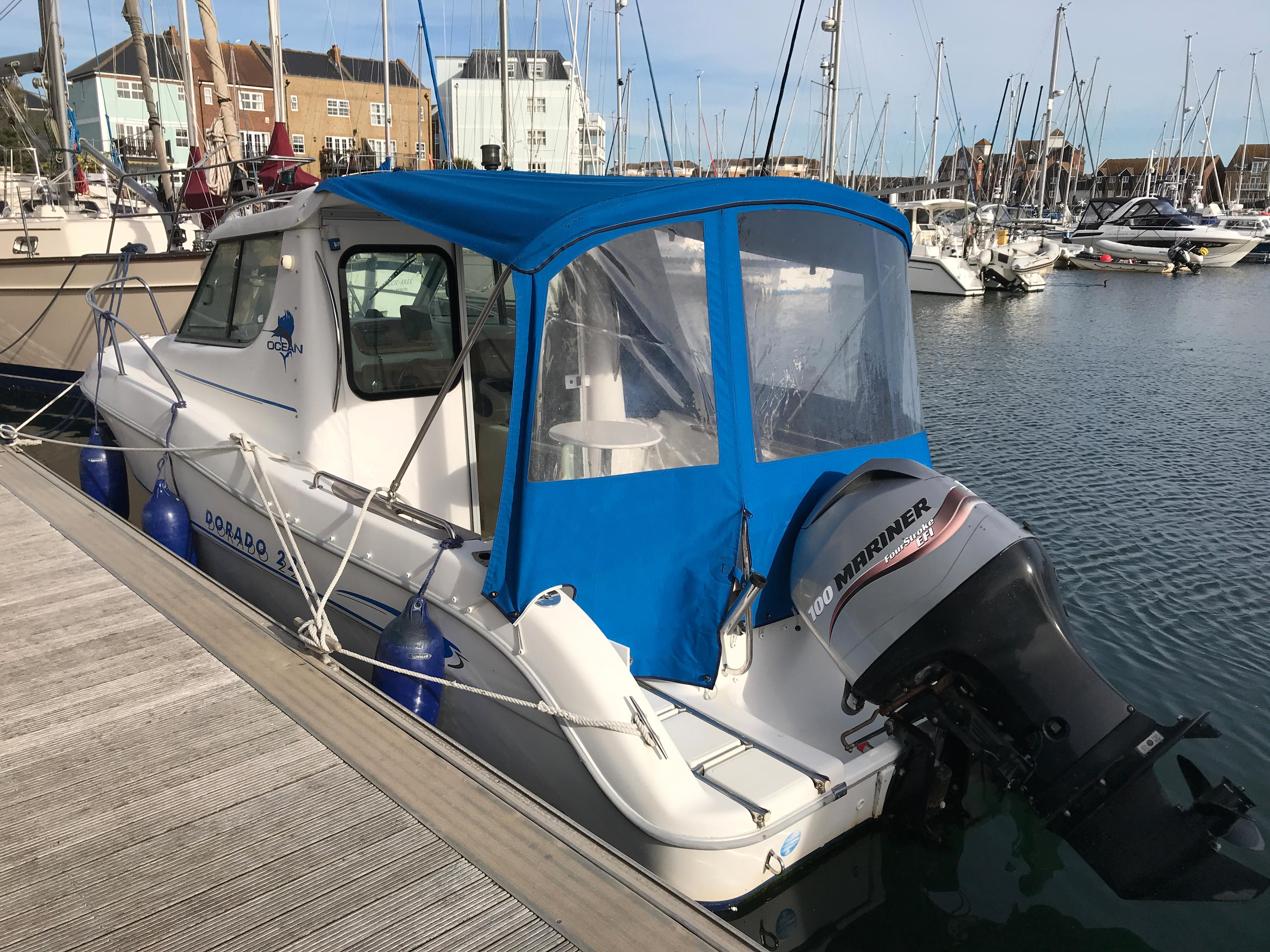 Sessa Marine Dorado 22 for sale - Bates Wharf