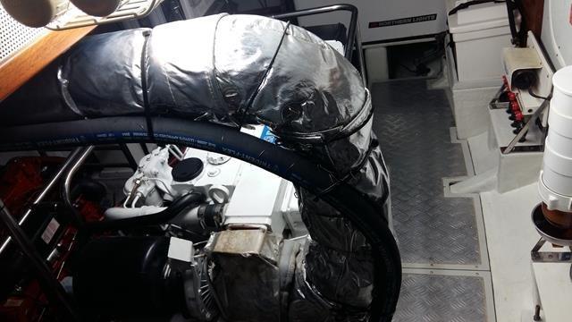 Selene 40 Engine Room