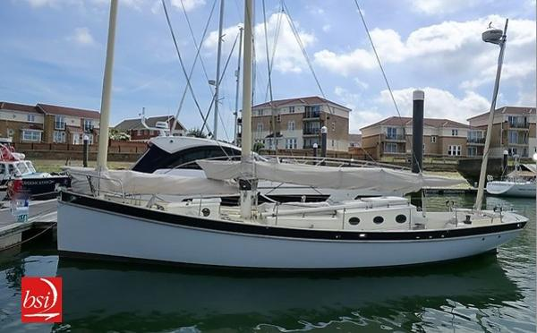 Irens 37 Lugsail schooner used boat for sale from Boat Sales International