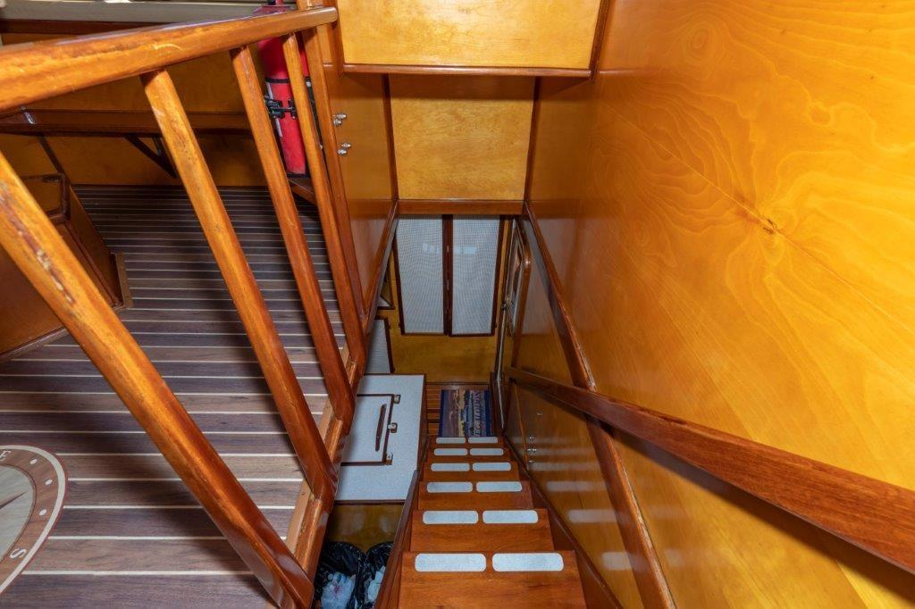 Pilothouse Stairwell