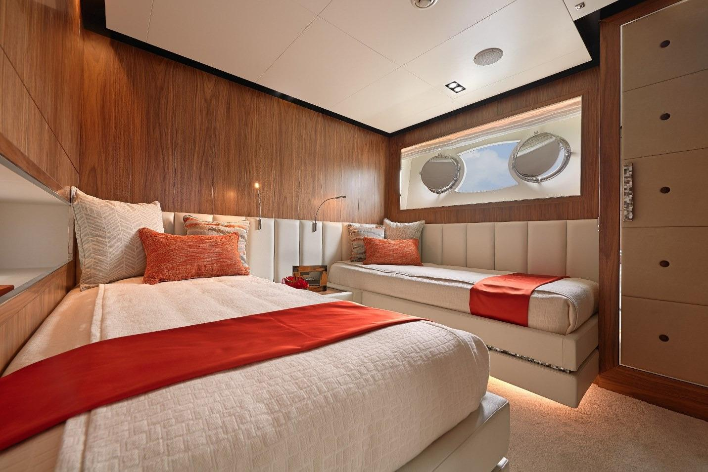 Manufacturer Provided Image: Twin #1 Stateroom