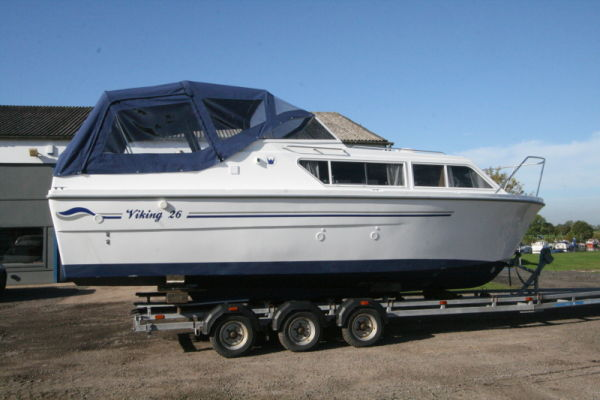Viking 26 Widebeam FOR HIRE | 26 foot 2010 Viking Boat in Naburn NYK ...